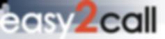 logo final easy2call - v3 coin transpare