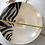 Thumbnail: Zebra Print Centerpiece Bowl