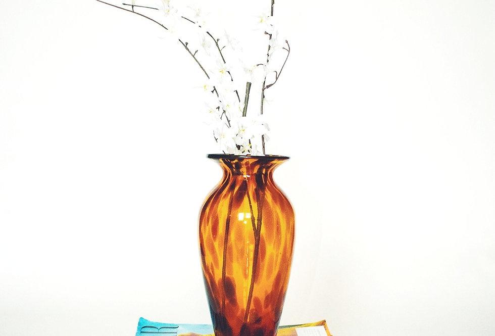 Shaded Glass Print vase