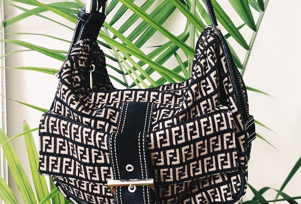 Vintage Fendi Hobo Bag