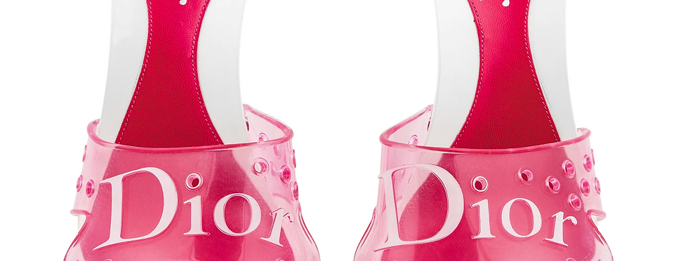 Christian Dior Jelly Mules