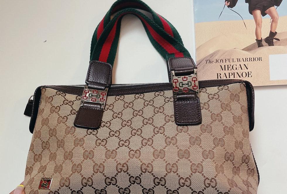 Vintage Gucci Monogram Mini Bag