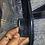Thumbnail: Christian Dior Denim Speedway Saddle Bag