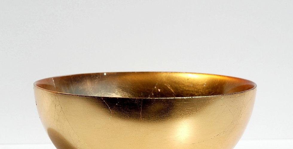 "GILT PREMIERE Gold Gilded 8"" Bowl"