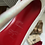 Thumbnail: Christian Louboutin Glitter Fabric Decollete Pump
