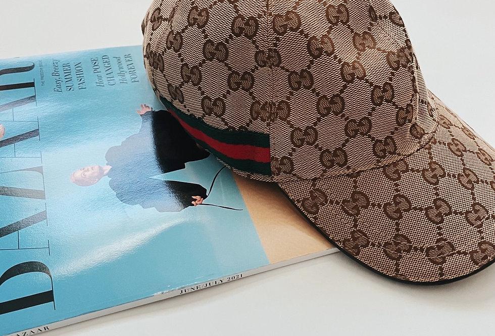 Original Gucci Canvas Baseball Hat
