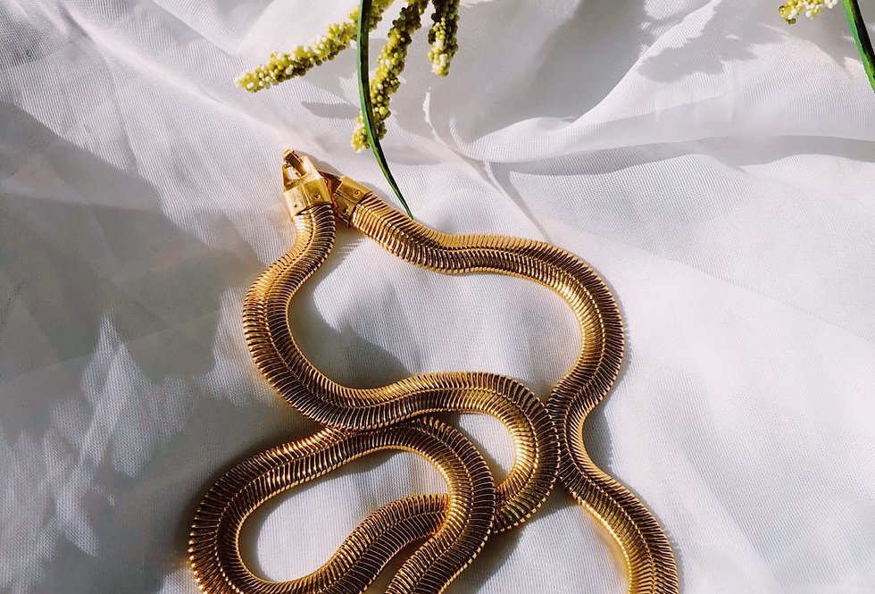 Gold Crested Chain