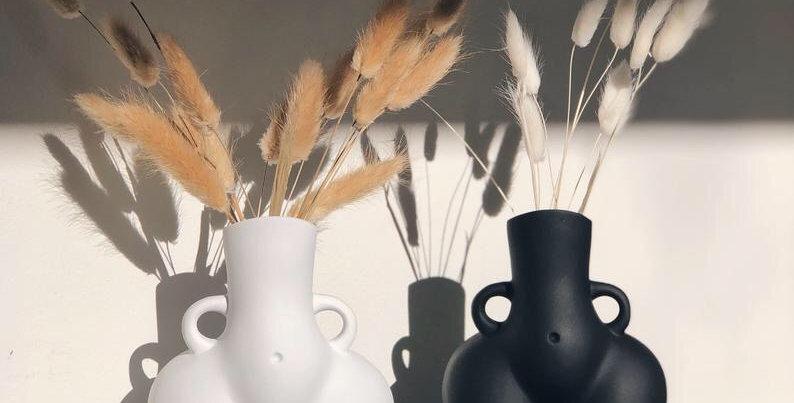 Handmade Body Flower Vase