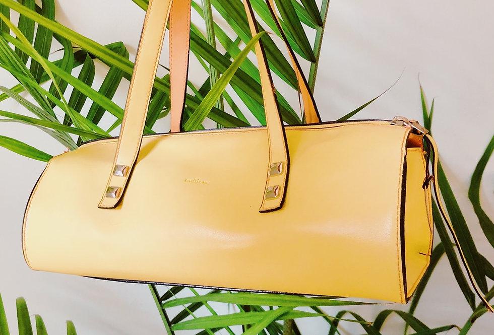 Emilie Lemon Handbag