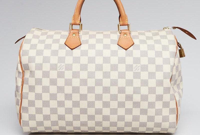 Louis Vuitton Damier Azur Canvas Speedy 35