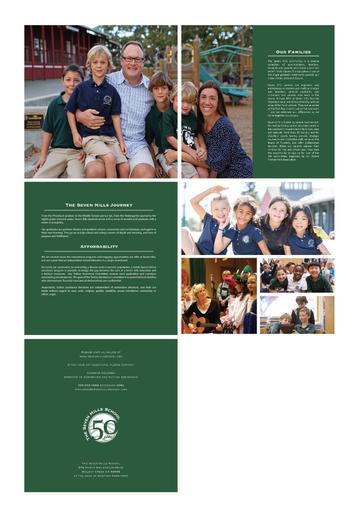 Seven Hills School Marketing Brochure