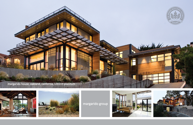 Marketing postcard for design-build firm