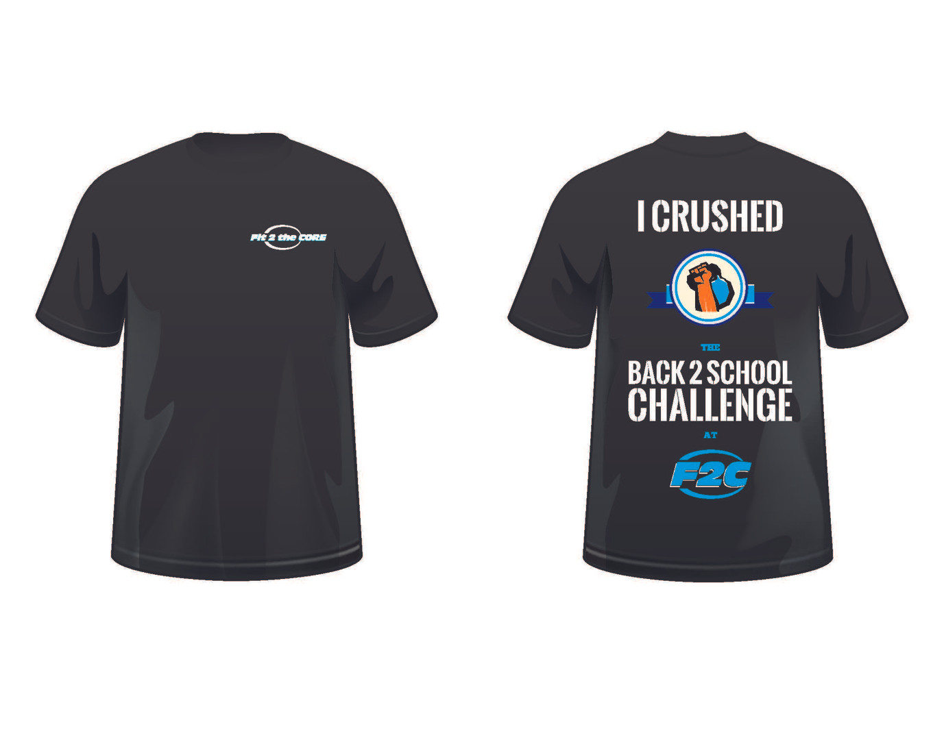 Gym challenge T-shirt