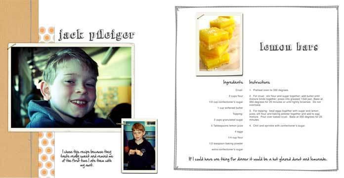 Auction Cookbook