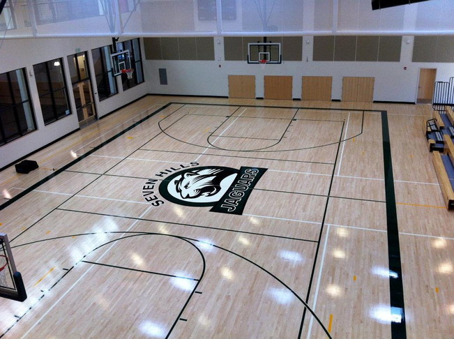 MS Logo in new gym