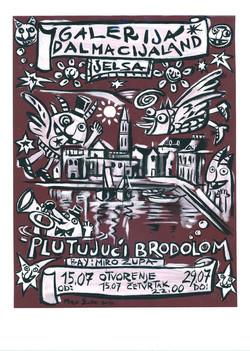Miro Župa's exhibition