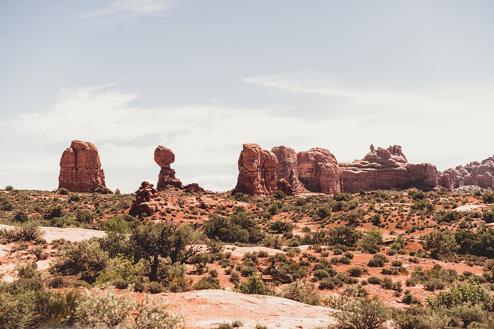 Moab Utah balanced rock