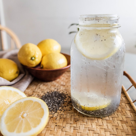 Chia & Lime Water