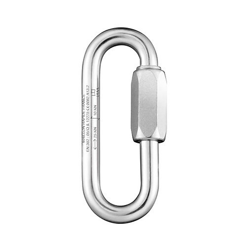 Maillon Rapide Oval, 10mm, GO 12mm