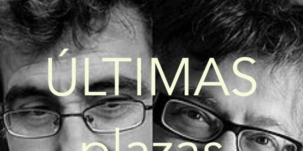 Jesús Aguado y Juan Vicente Piqueras
