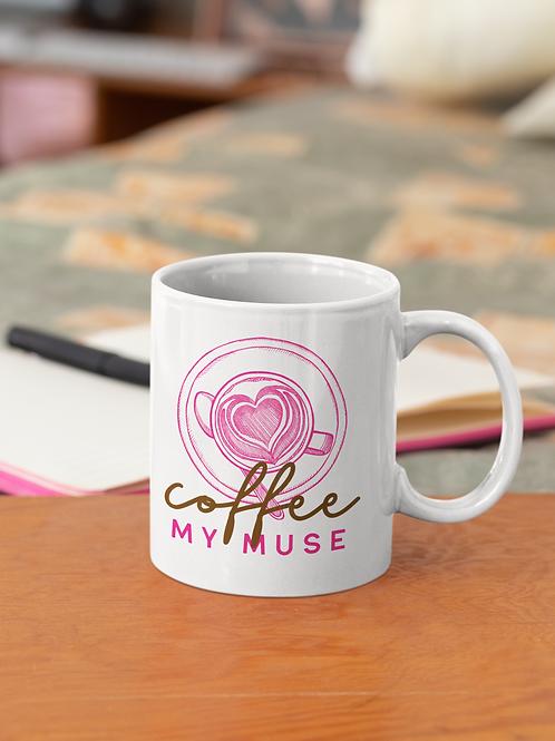 Coffee My Muse - 11 oz