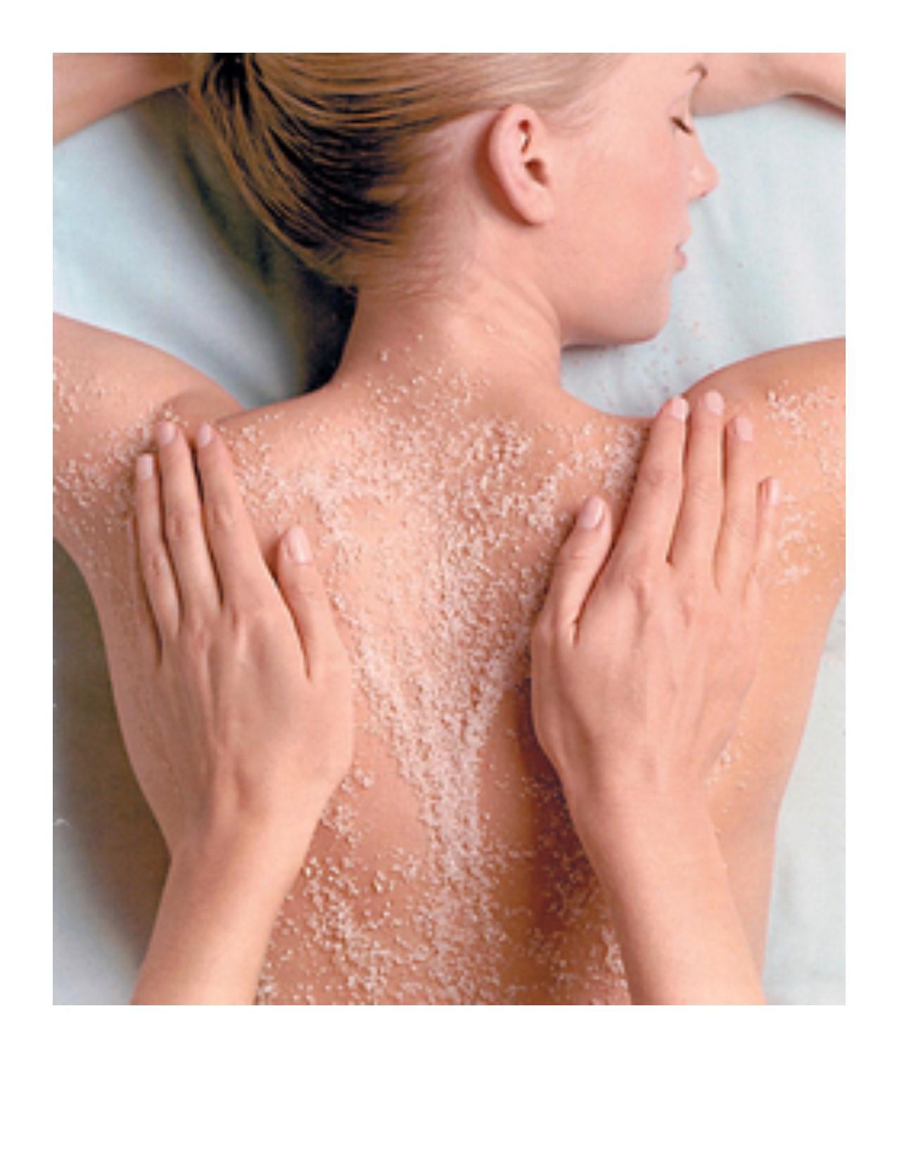 Add-On Body Polishing Back Scrub