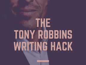What Tony Robbins Taught Me About Writing Fiction