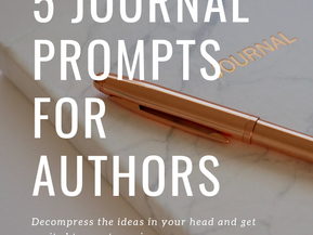 5 Journal Prompts for Authors
