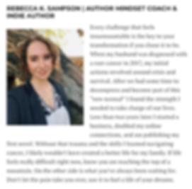 VoyageMIA local feature on Rebecca K. Sa
