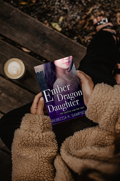 Ember Dragon Daughter Signed Paperback