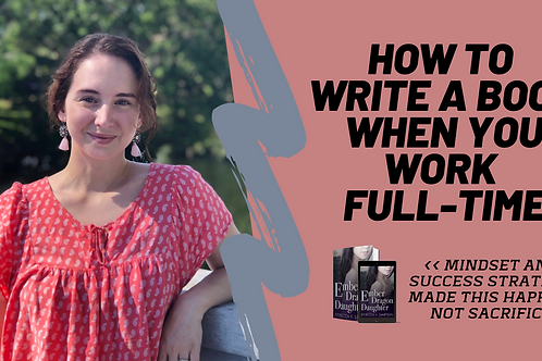 Masterclass: How to Write a Book When Busy AF
