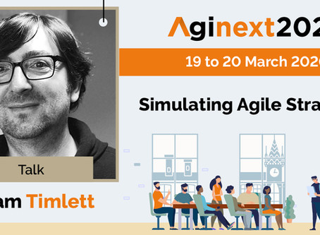 Talk at Aginext2020
