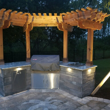 hand crafted Custom Pergolas