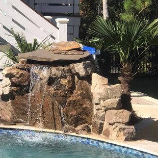 waterfall feature