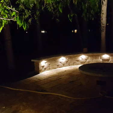 Bench accent lighting