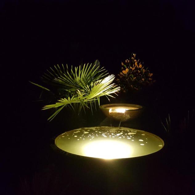 Night shot of water Bowl