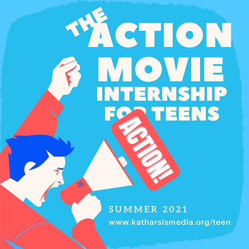 ACTION! Movie Internship for Teens