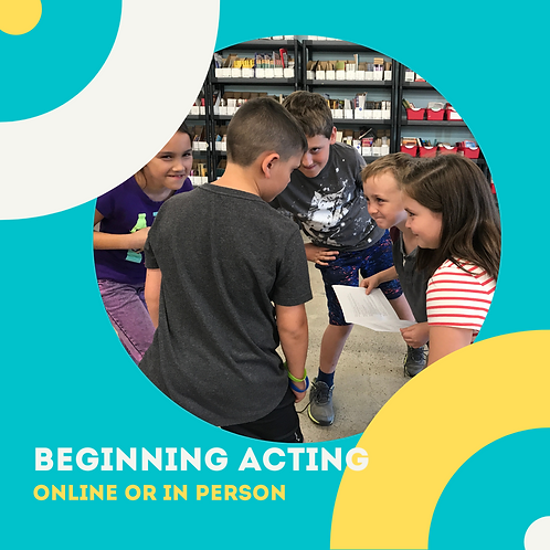 Beginning Acting for Youth