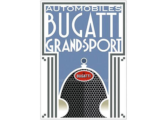 Bugatti Type 43 Grand Sport Poster