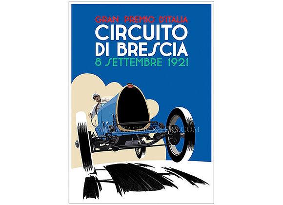 Bugatti Type 13 Grand Prix Poster 2