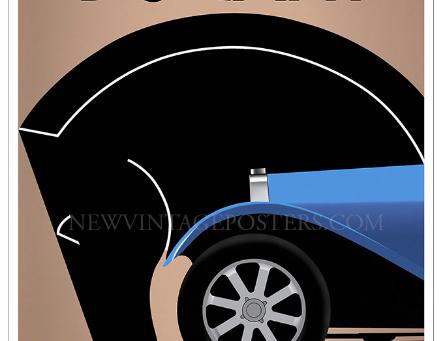 Bugatti Le Pur Sang Poster
