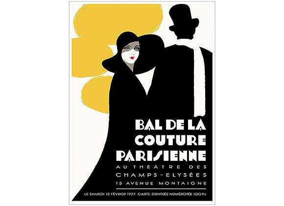 Bal De La Couture Poster