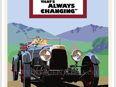 Aston Martin International Poster