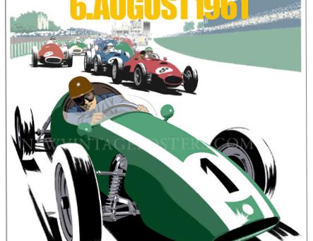 Cooper Nürburgring Poster