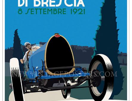 Bugatti Type 13 Grand Prix Poster