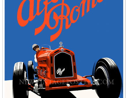 Alfa Romeo 8C 2300 Poster