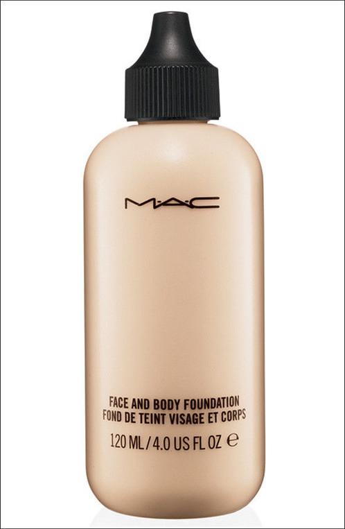 White foundation makeup