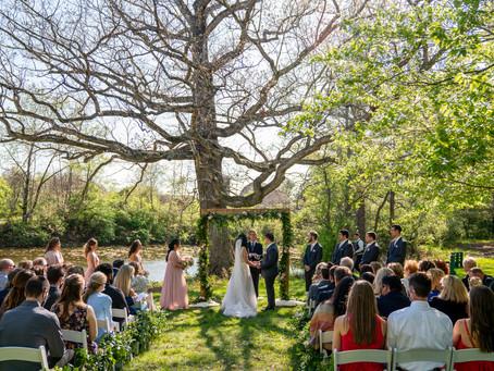 Spring Wedding at the Ohio Wildlife Center