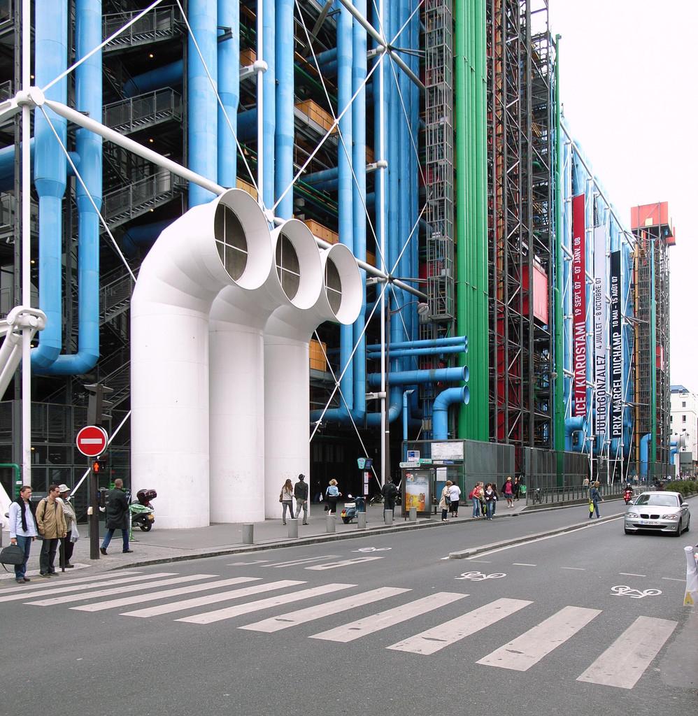 Pompidou Centre; Paris