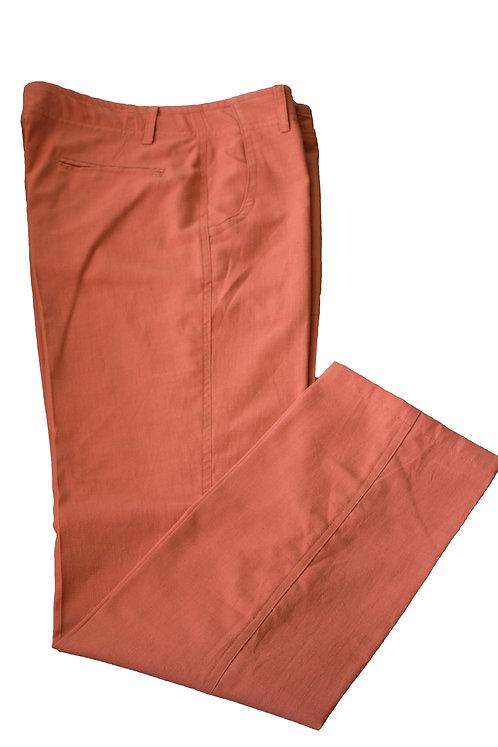 Pantalón Moda 50% algodon 50%,Lino Italiano
